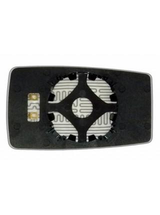 Элемент зеркала CHERY Amulet 2003-н вр левоправый асферический с обогревом 15100034