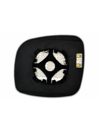 Элемент зеркала DODGE Grand Caravan 2008-н вр правый сферический с обогревом 24100809