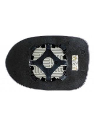 Элемент зеркала DODGE Caliber 2009-н вр правый асферический с обогревом 24110900