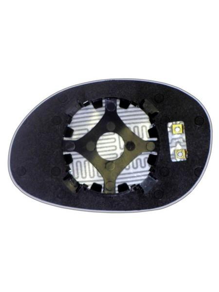 Элемент зеркала DODGE Neon I 1993-н вр правый асферический с обогревом 24209300