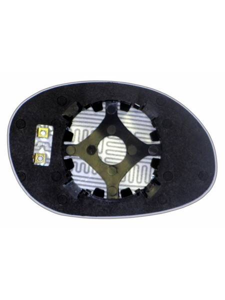 Элемент зеркала DODGE Neon I 1993-н вр левый асферический с обогревом 24209306