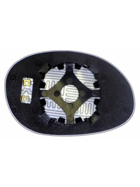 Элемент зеркала DODGE Neon I 1993-н вр левый сферический с обогревом 24209308