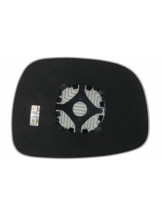 Элемент зеркала BUICK Rendezvous 2006-н вр левый сферический с обогревом 25330108