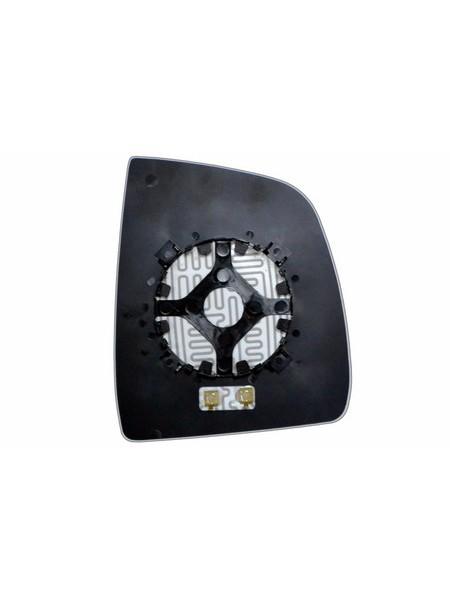 Элемент зеркала FIAT Doblo 2010-н вр левый асферический с обогревом 27301006