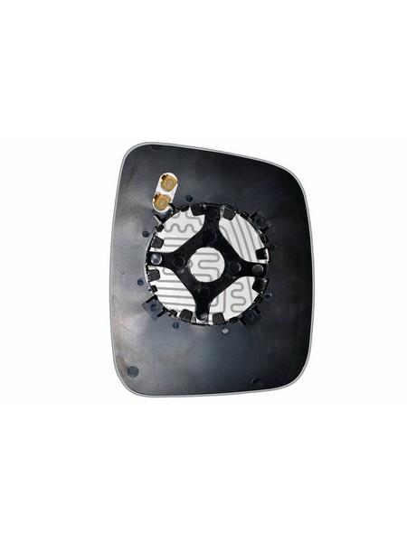 Элемент зеркала FIAT Fiorino 2008-н вр левый сферический с обогревом 27410808