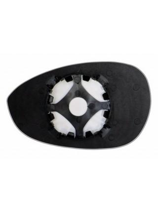 Элемент зеркала FIAT Nuova 500 2007-н вр правый сферический без обогрева 27440704
