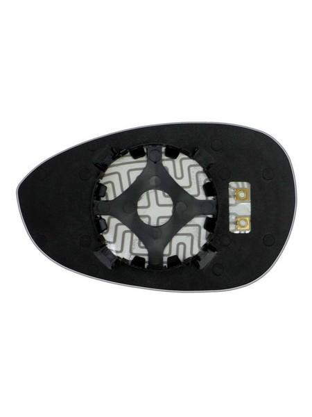Элемент зеркала FIAT Punto III 2005-н вр правый асферический с обогревом 27470500