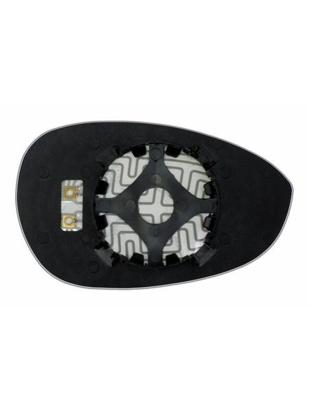 Элемент зеркала FIAT Punto III 2005-н вр левый асферический с обогревом 27470506