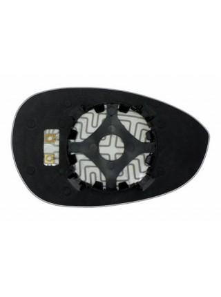 Элемент зеркала FIAT Punto III 2005-н вр левый сферический с обогревом 27470508