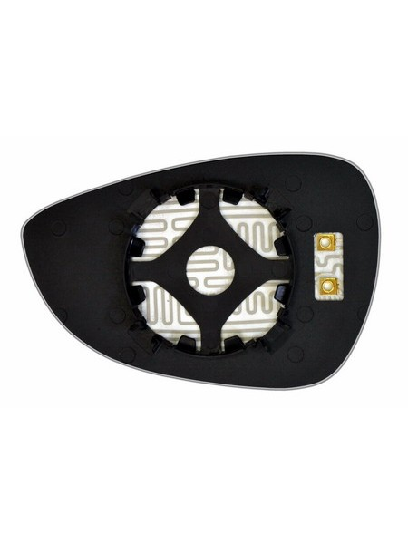 Элемент зеркала FORD Fiesta VI 2008-н вр правый асферический с обогревом 28300800