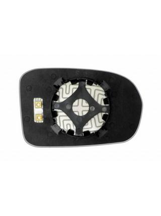Элемент зеркала HONDA Civic VII 2001-н вр левый асферический с обогревом 36200106