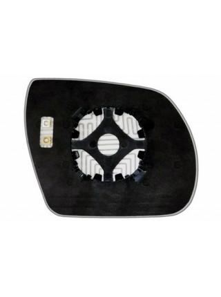 Элемент зеркала HYUNDAI Santa FE II 2006-н вр левый асферический с обогревом 39280606