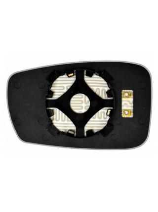 Элемент зеркала HYUNDAI Sonata VI 2010-н вр правый асферический с обогревом 39301000