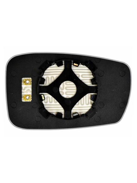 Элемент зеркала HYUNDAI Sonata VI 2010-н вр левый асферический с обогревом 39301006