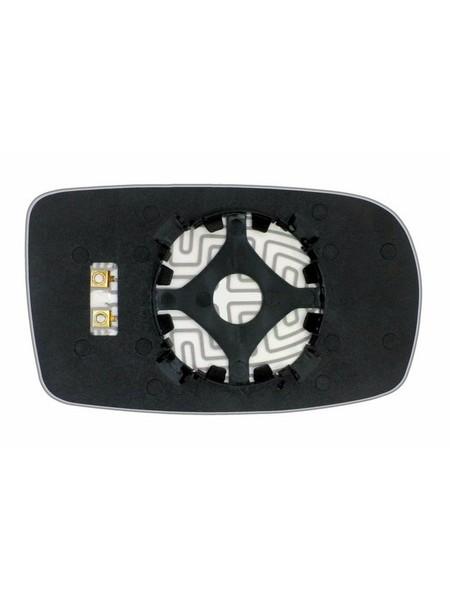 Элемент зеркала HYUNDAI Genesis Coupe 2012-н вр левый асферический с обогревом 39881206