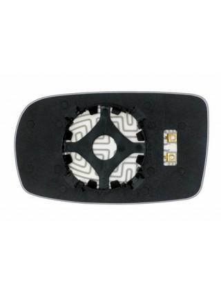 Элемент зеркала HYUNDAI Genesis Coupe 2012-н вр правый сферический с обогревом 39881209