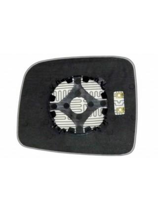 Элемент зеркала JEEP Cherokee III 2001-н вр правый асферический с обогревом 48200100