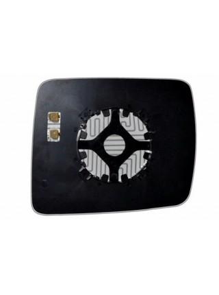 Элемент зеркала JEEP Commander 2009-н вр левый асферический с обогревом 48350906