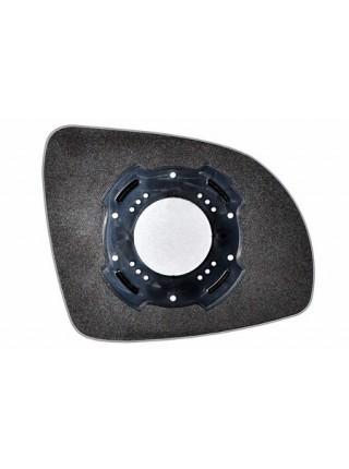 Элемент зеркала KIA Picanto I 2008-н вр левый асферический без обогрева 50150801