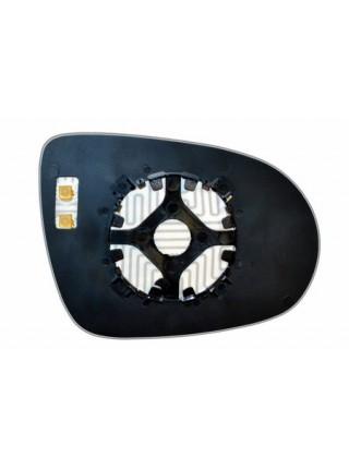 Элемент зеркала KIA Sorento III 2014-н вр левый сферический с обогревом 50211408
