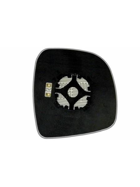 Элемент зеркала MERCEDES Vito W639 (03-10) левый асферический с обогревом 63330406