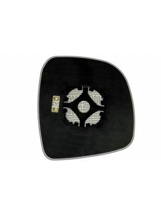 Элемент зеркала MERCEDES Vito W639 (03-10) левый сферический с обогревом 63330408