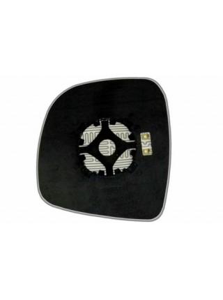 Элемент зеркала MERCEDES Vito W639 (03-10) правый сферический с обогревом 63330409