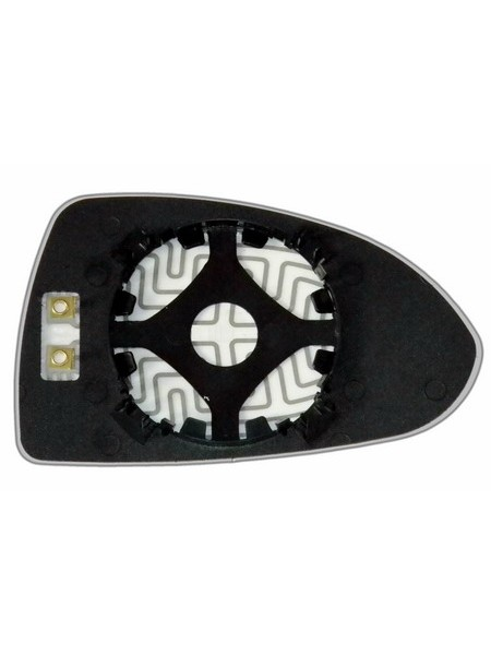 Элемент зеркала OPEL Corsa D 2006-н вр левый асферический с обогревом 70330606