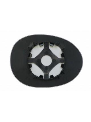 Элемент зеркала PEUGEOT 107 2005-н вр левый сферический без обогрева 72170503