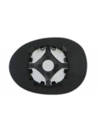 Элемент зеркала PEUGEOT 107 2005-н вр правый асферический без обогрева 72170505