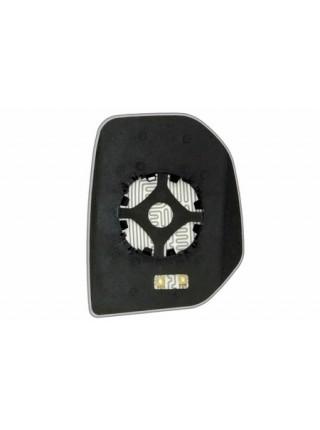 Элемент зеркала PEUGEOT Partner 2008-н вр левый асферический с обогревом 72700806