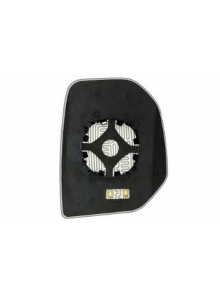 Элемент зеркала PEUGEOT Partner 2008-н вр левый сферический с обогревом 72700808