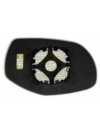 Элемент зеркала PORSCHE Cayenne 2007-н вр левый асферический с обогревом 75550706