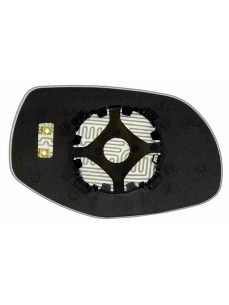 Элемент зеркала PORSCHE Cayenne 2007-н вр левый плоский с обогревом 75550707