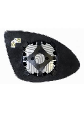 Элемент зеркала PORSCHE Cayenne 2011-н вр левый сферический с обогревом 75551108