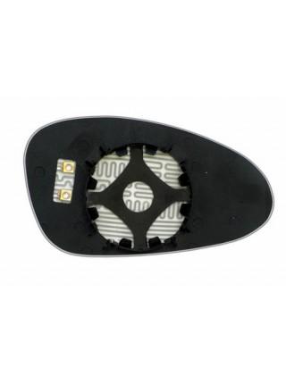 Элемент зеркала PORSCHE 911 2009-н вр левый асферический с обогревом 75910906