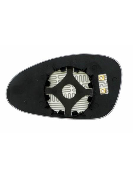 Элемент зеркала PORSCHE 911 2009-н вр правый сферический с обогревом 75910909