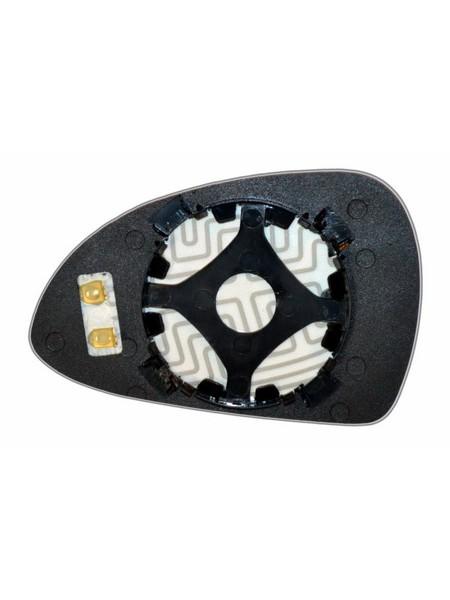 Элемент зеркала PORSCHE 911 2012-н вр правый сферический с обогревом 75911209