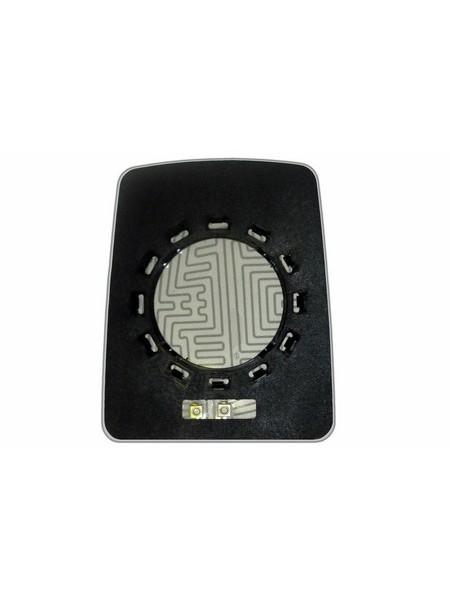 Элемент зеркала RENAULT Master I 1995-н вр левоправый сферический с обогревом 76399533