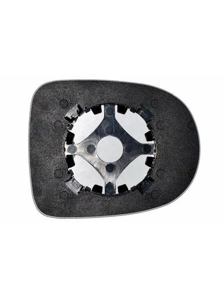 Элемент зеркала RENAULT Twingo II 2012-н вр левоправый сферический без обогрева 76441231