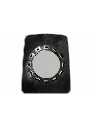 Элемент зеркала RENAULT Trafic l 1995-н вр левоправый сферический без обогрева 76809531