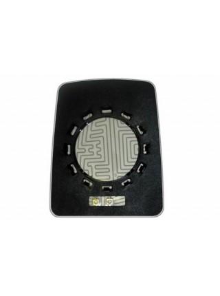 Элемент зеркала RENAULT Trafic l 1995-н вр левоправый сферический с обогревом 76809533