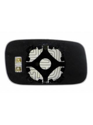 Элемент зеркала SEAT Inca 1995-н вр левый плоский с обогревом 83309507