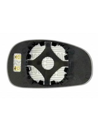 Элемент зеркала SEAT Leon II 2005-н вр левый асферический с обогревом 83330606