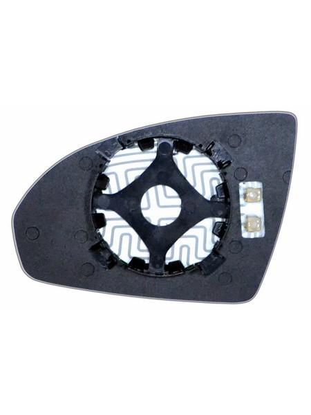 Элемент зеркала SMART Fortwo II 2007-н вр правый асферический с обогревом 85250700