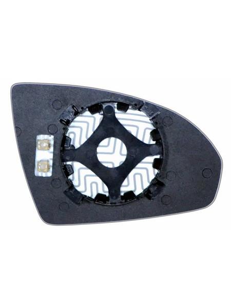 Элемент зеркала SMART Fortwo II 2007-н вр левый асферический с обогревом 85250706