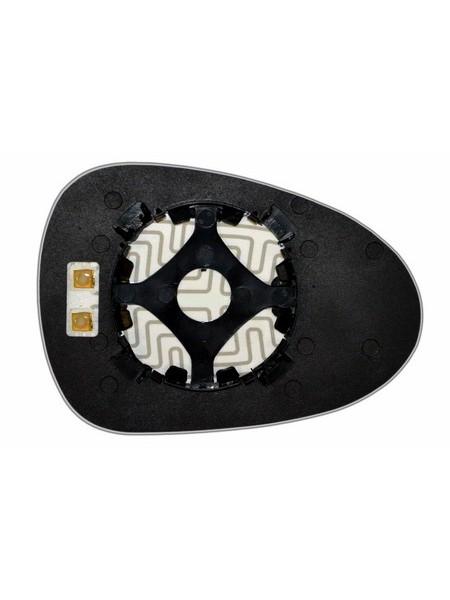 Элемент зеркала TAGAZ C10 2011-н вр левый асферический с обогревом 90101106