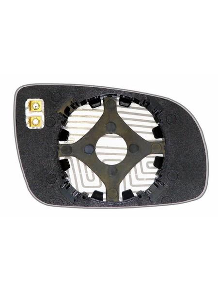 Элемент зеркала VOLKSWAGEN Golf IV 2002-н вр левый плоский с обогревом 93300207