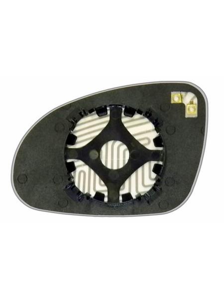 Элемент зеркала VOLKSWAGEN Golf V 2003-н вр правый асферический с обогревом 93300300
