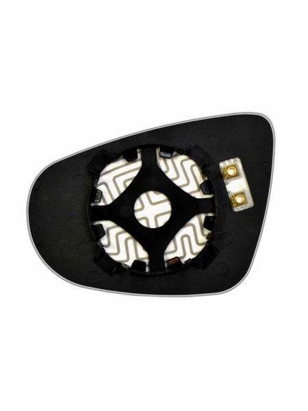 Элемент зеркала VOLKSWAGEN Golf VI 2008-н вр правый сферический с обогревом 93300709